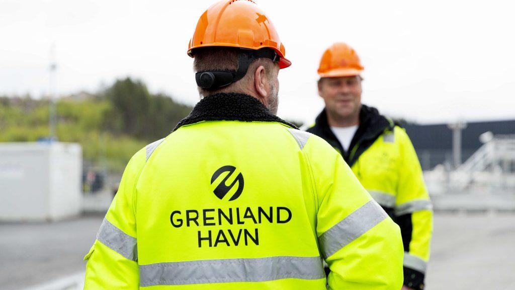 Grenland Havn Skien Havnetermial ansatte