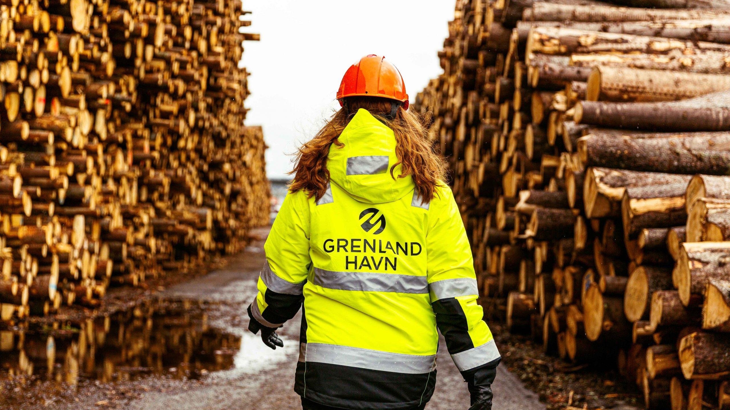 Grenland Havn kvinnelig ansatt