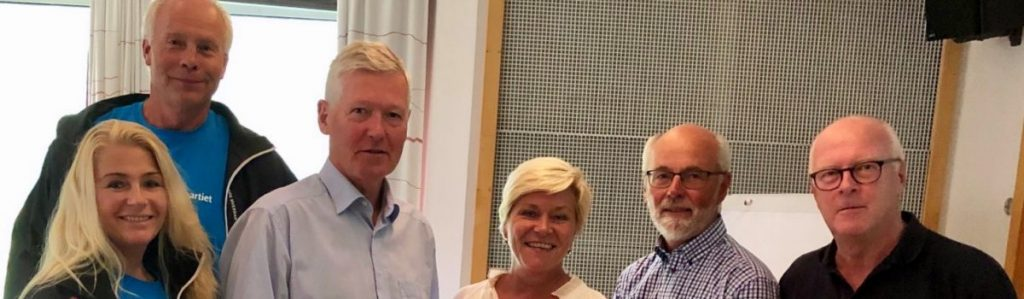 Besøk av Siv Jensen til Frier Vest