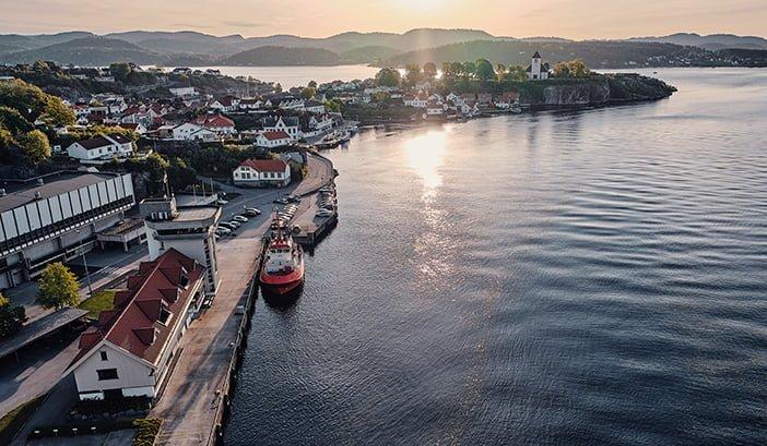Grenland Havn Hovedkontor i Brevik