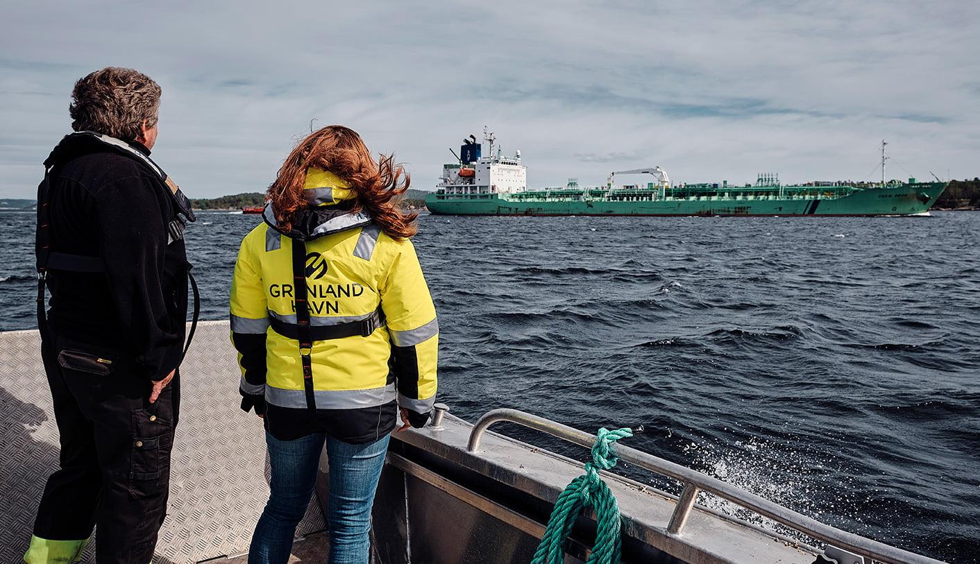 Grenland Havn farledsikring skip