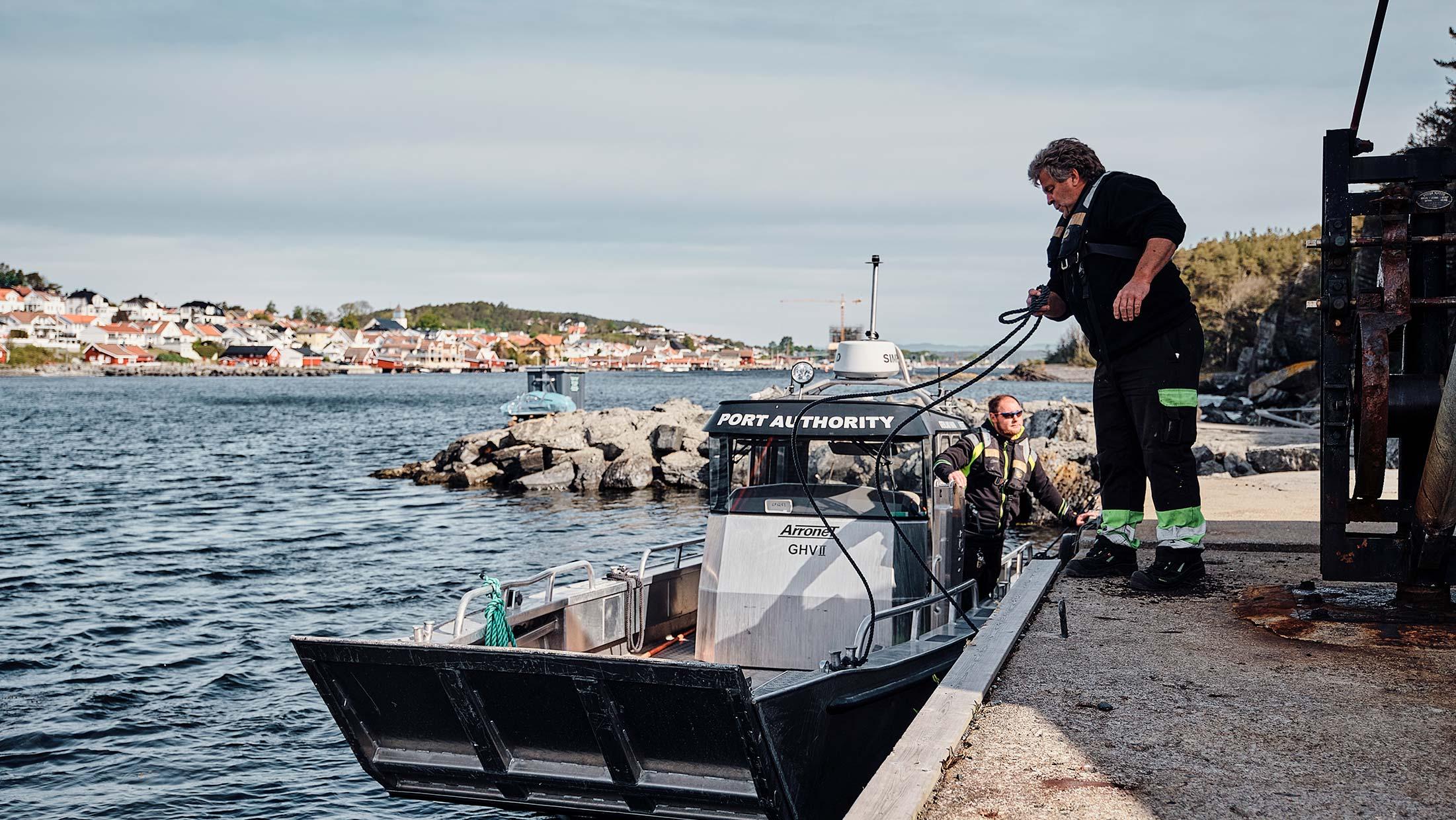 Grenland Havn Søke tiltak i sjo