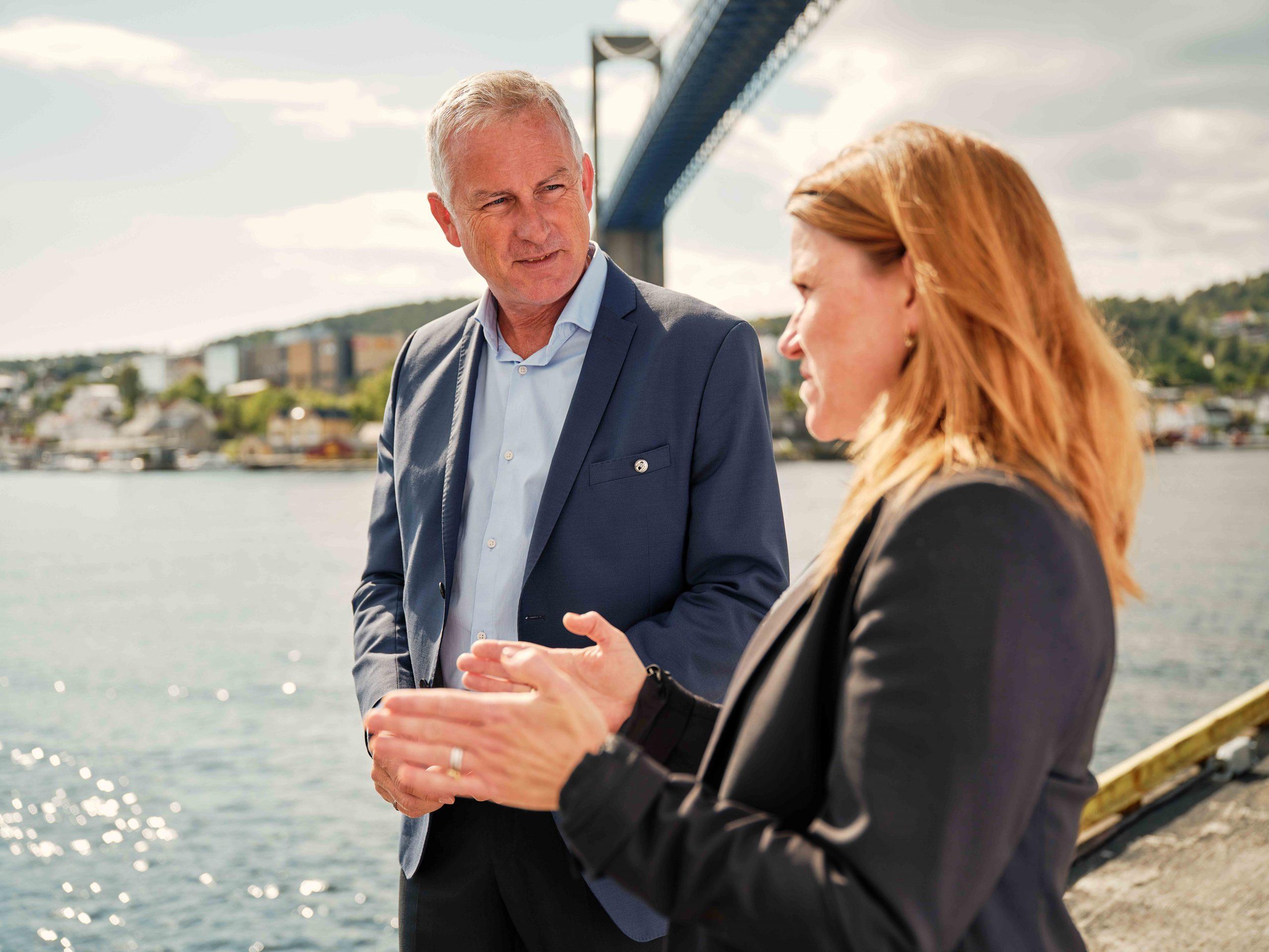 Havnedirektøren Torben Jebsen visjon